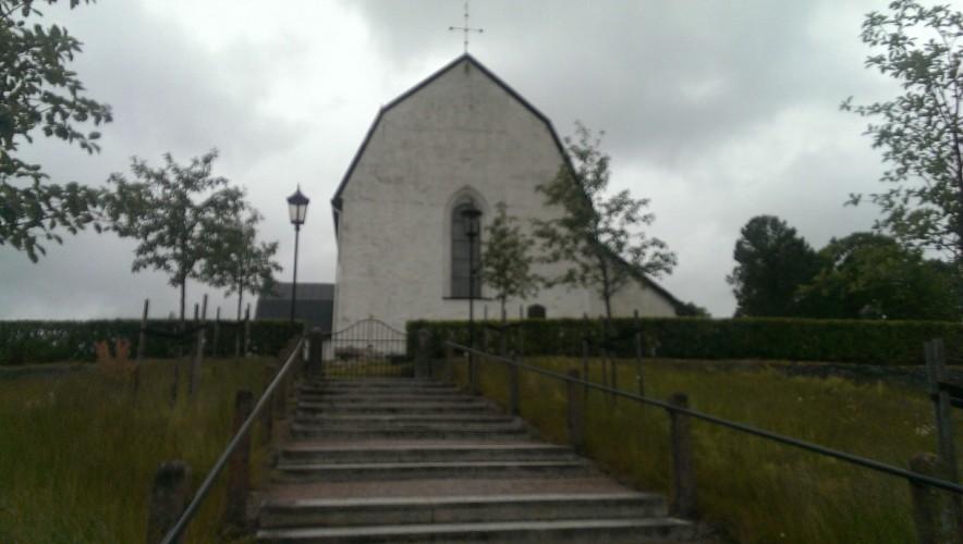 Maskor och medeltid - och ett kyrkobesök
