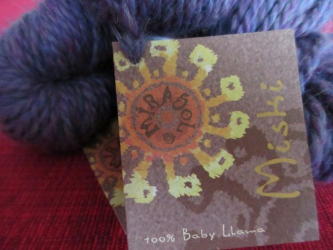 Vinnaren av härligt mjuka Baby Llama från Mirasol - Mishti  är...