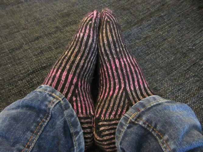 Perfect jeans socks
