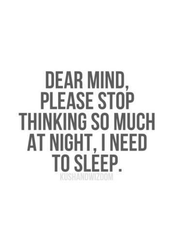 Mitt i natten finns alla goda idéer... kanske.
